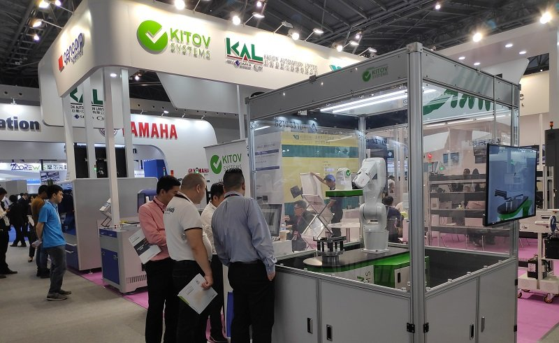 Kitov.ai presents its cutting edge technology at Nepcon Shanghai show