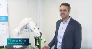 Thomas Hähn, CEO and Founder of Hahn Group talks about Kitov's technology on SWR News, Dec 2019